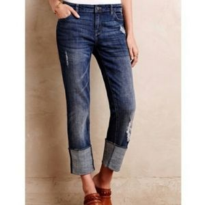 Anthropologie Pilcro Hyphen cropped jeans. Size 28